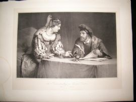After Christopher Paudiss C1840 LG Folio Print. Judicial Act